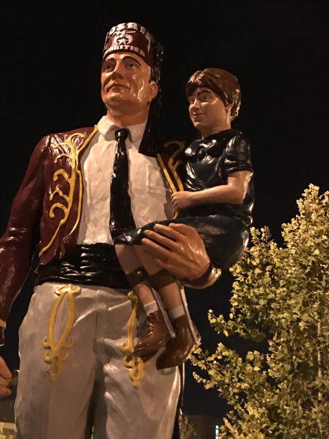 Shriner's statue