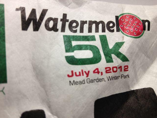 Watermelon 5k 2012