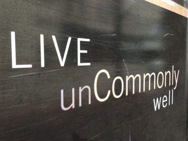 a condominium sign