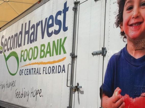 Second Harvest Food Bank food truck