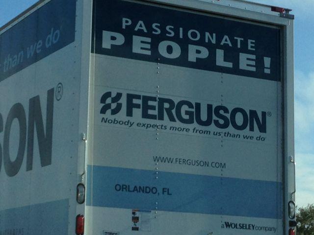 Ferguson trucking company slogan
