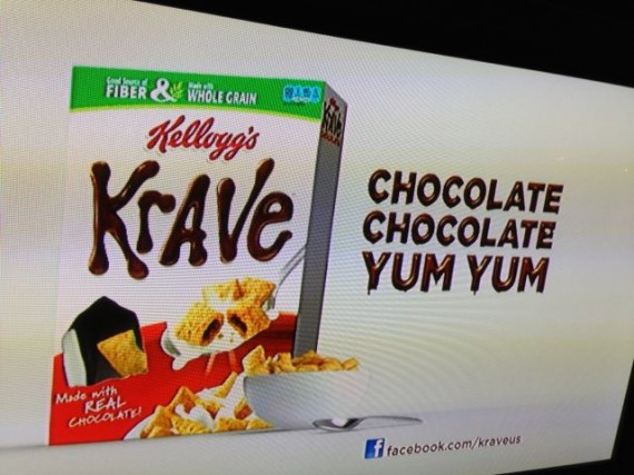 A box of Kellogg's Krave cereal serves as a metaphor