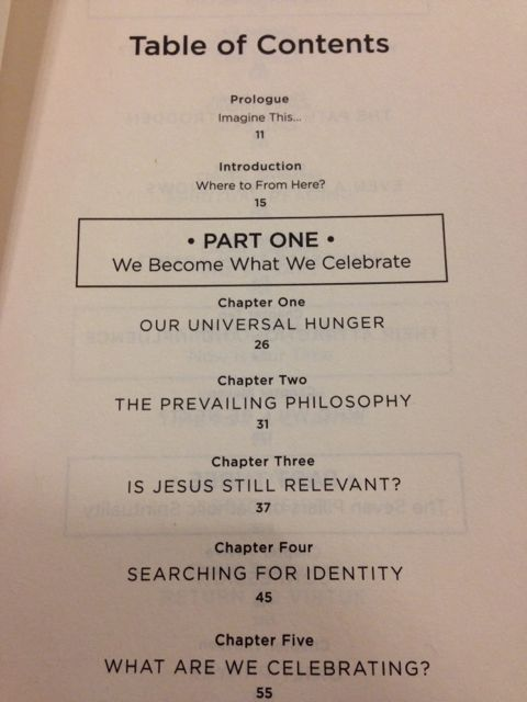 A compelling table of contents