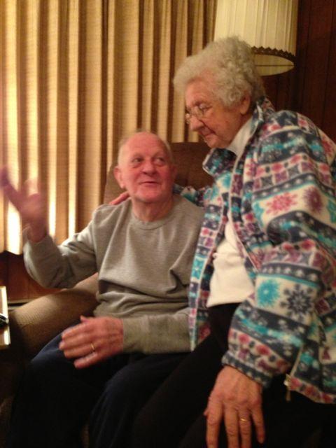 aging adults enjoying many birthdays