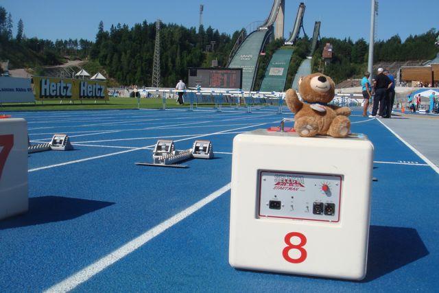 Lahti, Finland Track & Field stadium