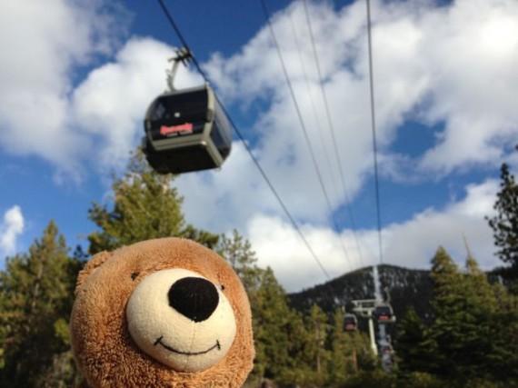 Heavenly Ski Resort gondola, Lake Tahoe
