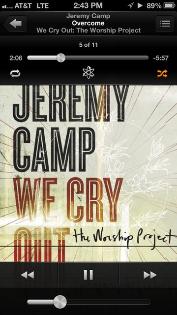 Jeremy Camp Overcome