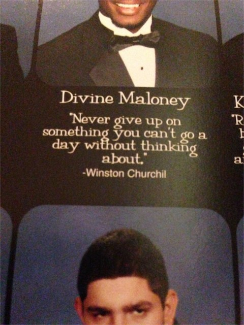 HS Yearbook quotes
