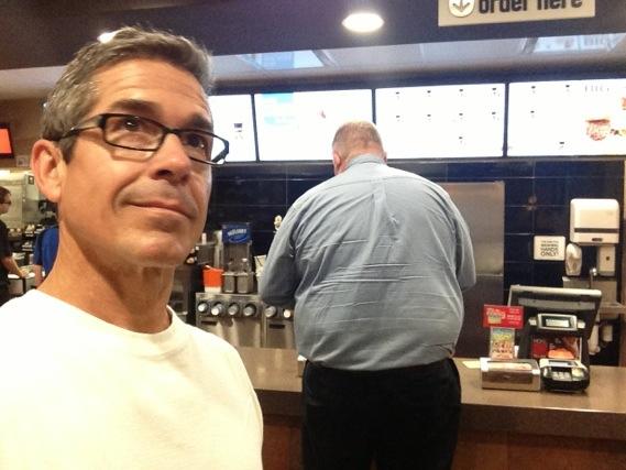 jeff noel inside McDonalds