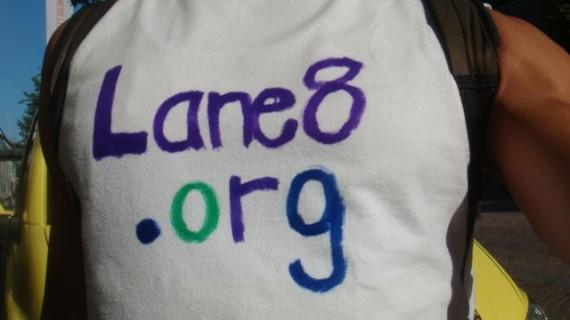 Lane 8 t-shirt