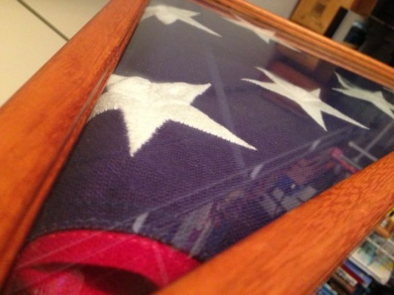 Deceased American Soldier's Flag