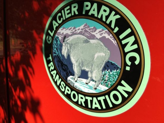 Glacier National Park Mountain Majesty Red Bus tour July 26, 2013