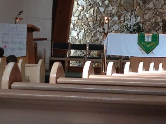 Holy Family Catholic old Church