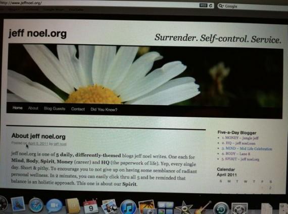jeff noel .org circa 2010.
