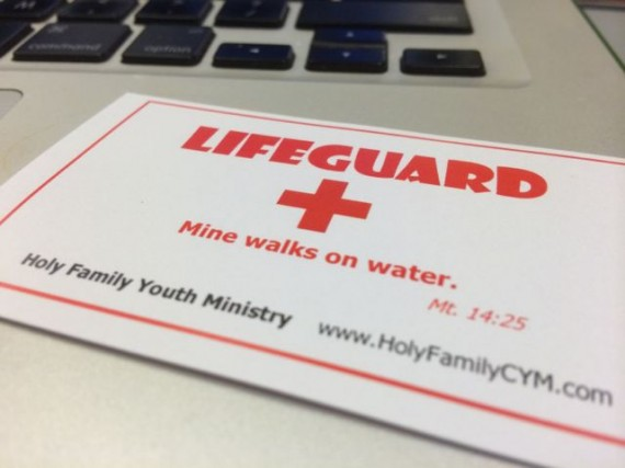 Clever Church business card