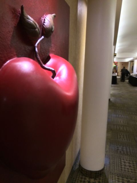 This is how big a poison apple is in real life