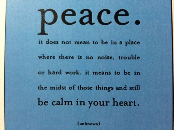 wise definition of peace