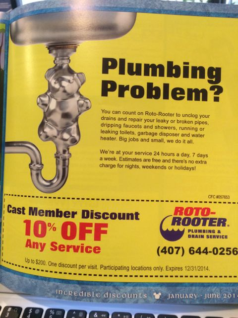 Roto rooter ad