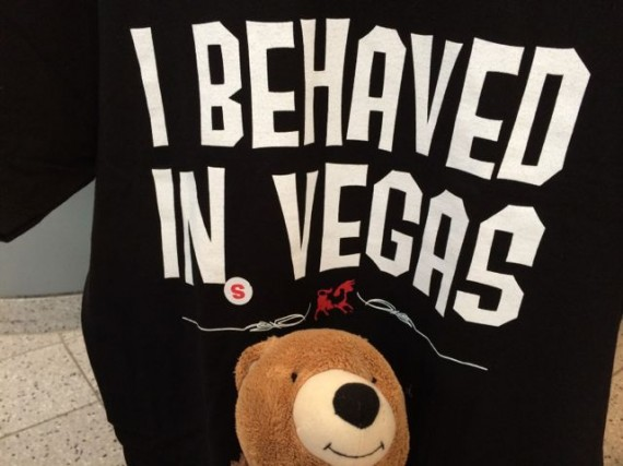 Clever Las Vegas t-shirt