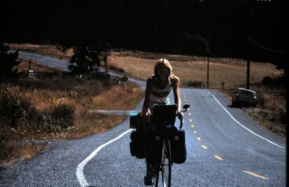 Honeymoon bicycle trip