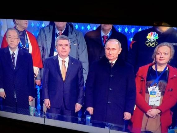 Sochi Olympic's highest ranking people