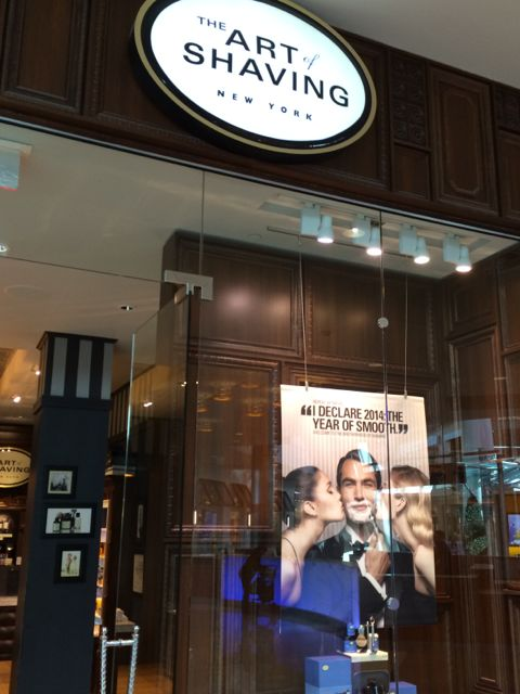 The Art of Shaving store at Orlando's Mall at Millenia