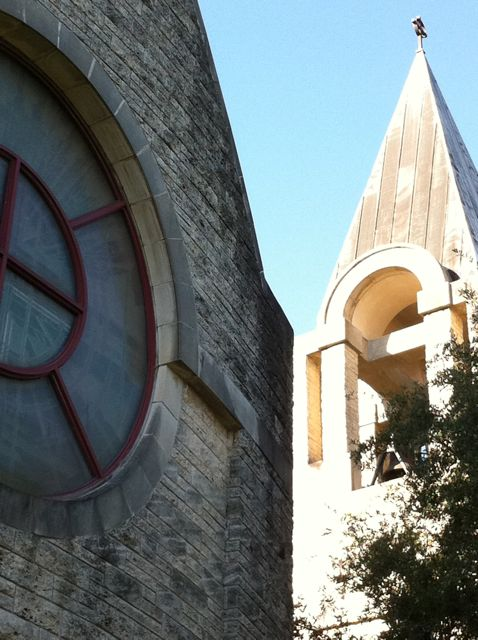Church near Rice University