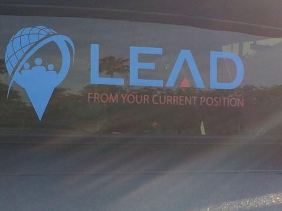 Leadership bumper sticker