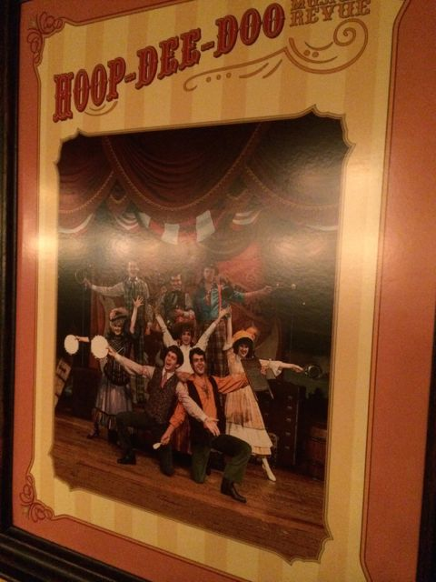 Disney's Hoop dee doo musical review poster
