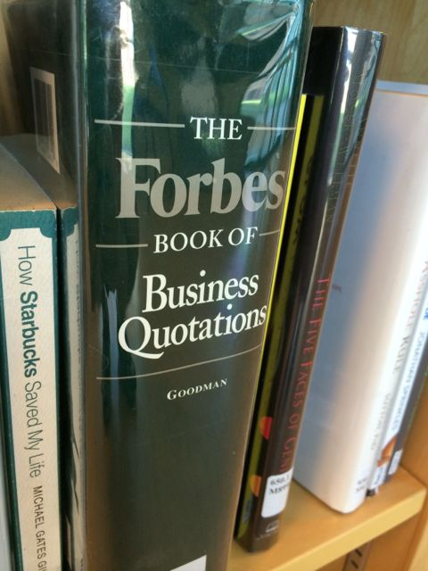 Quotation book