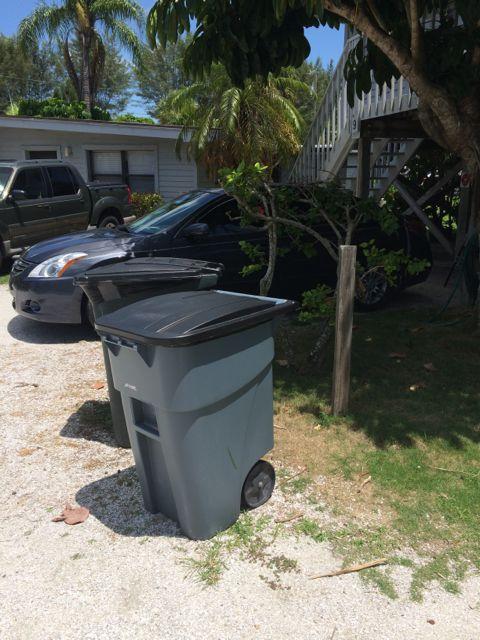 Sanibel Island tourist trash can