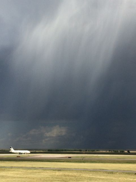 Severe weather related delays during August travel