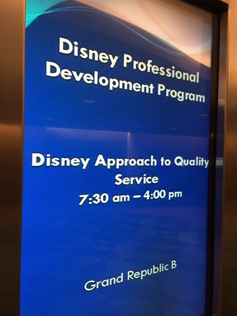 Disney World Professional Development Program
