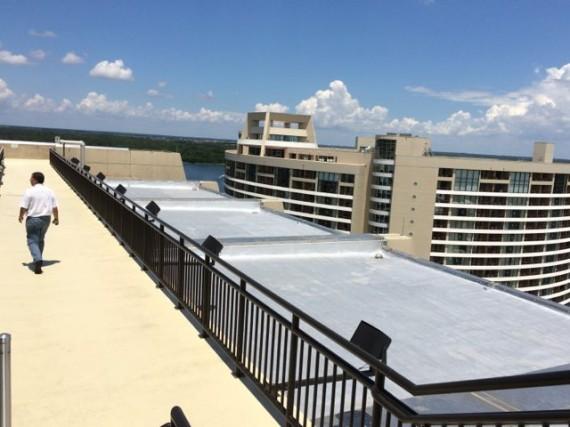 Disney's Contemporary Resort Hotel observation deck