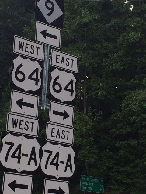 North Carolina road sides