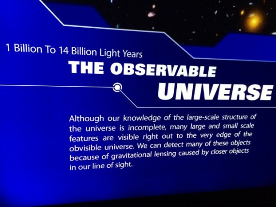 Observable Universe facts