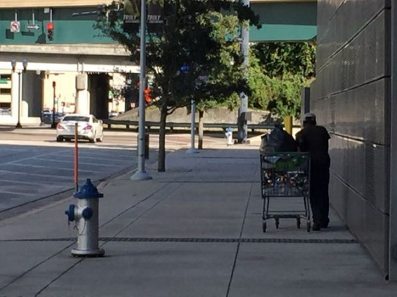 Orlando homeless community