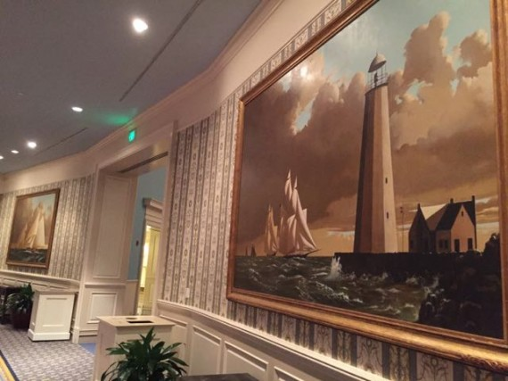 Disney's Yacht and Beach Club Convention Center Lobby