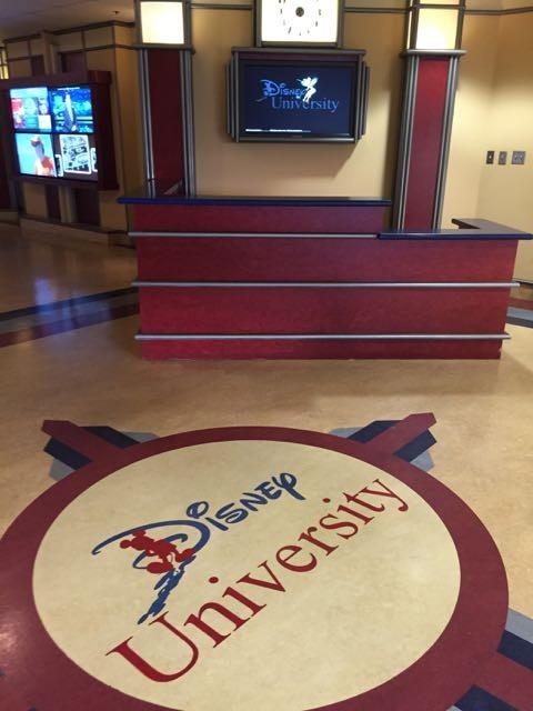 Disney University lobby.