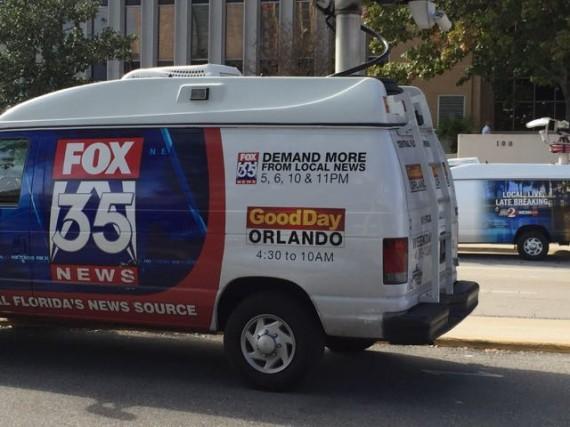 Orlando News Vans