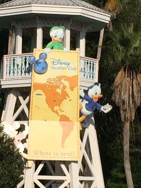 DVC lookout tower near Disney's Old Key West Resort