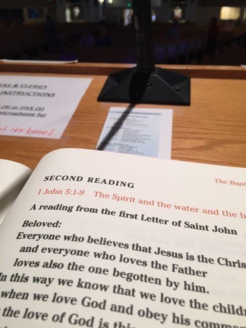 Catholic Reading January 11, 2015