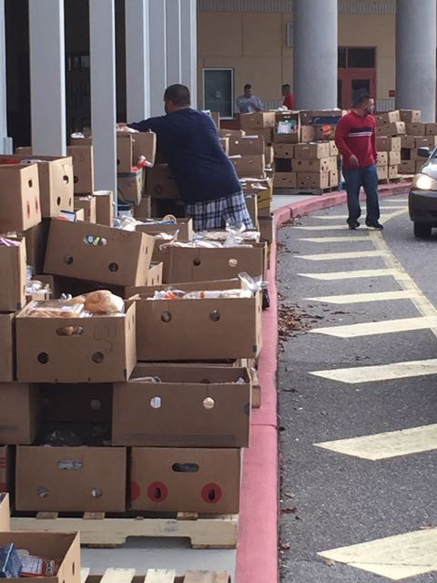 Food For Families at Ocoee High School