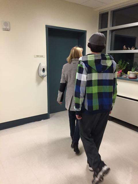 Senior Living Facility hallway