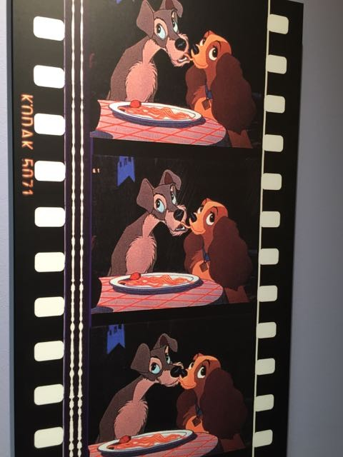 Lady and The Tramp wall art