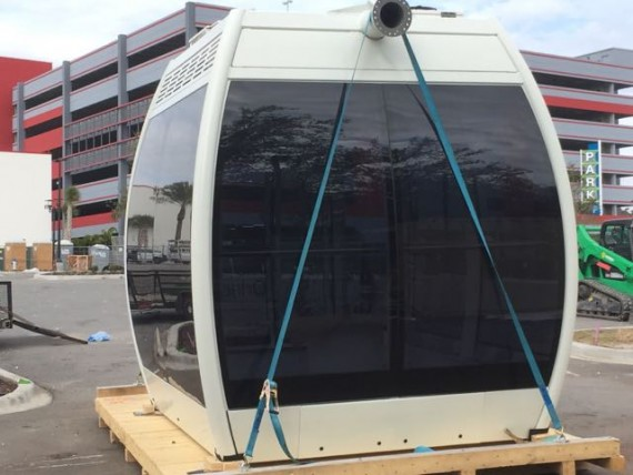 The Orlando Eye passenger car