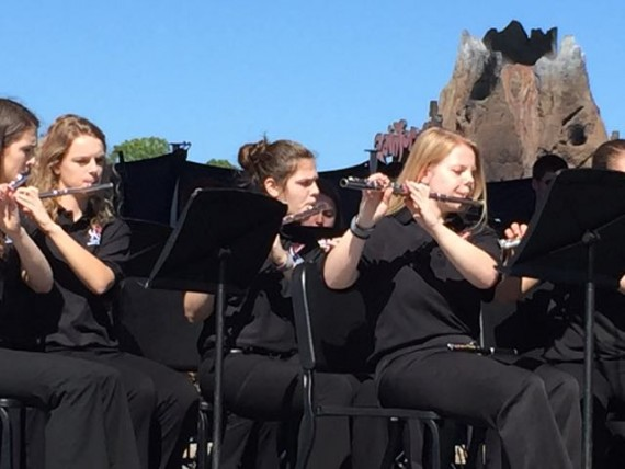 Spring Grove Area High School Band at Disney World