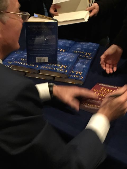 Lee Cockerell book signing