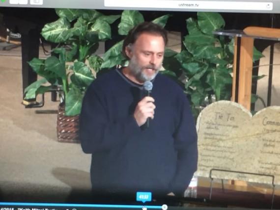Keith Mitzel preacher