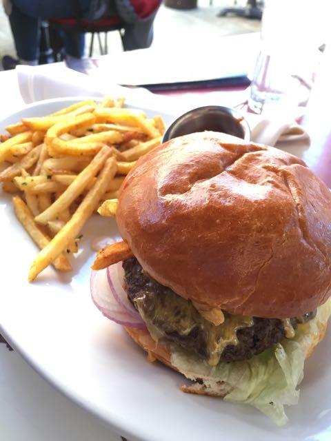 Disneyland's Main Street Burger